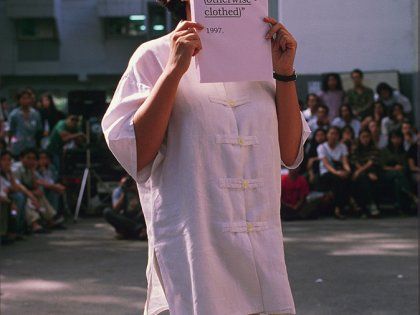 Performance-Art Conference Bangkok 1997